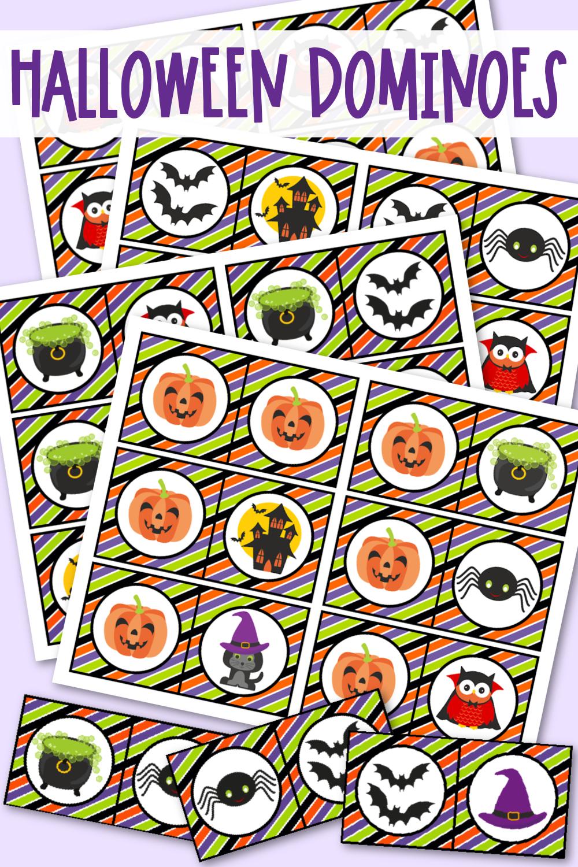 Halloween Dominoes Free Printable Halloween Game