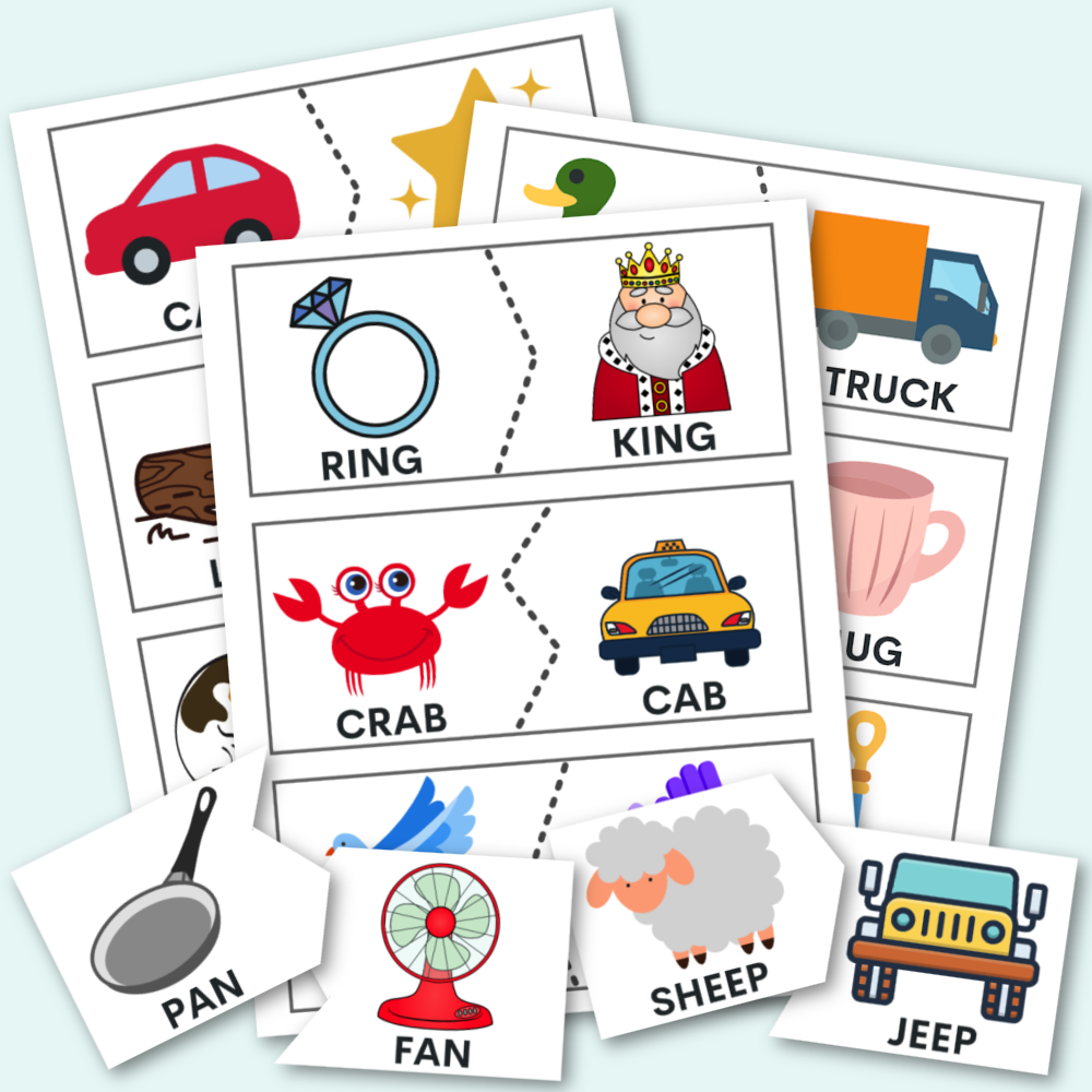 Rhyming Puzzles - Download for free