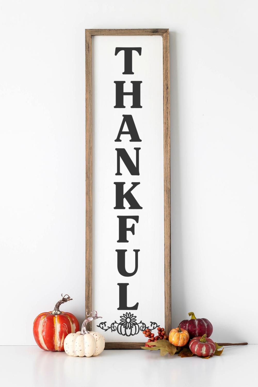 Thankful Porch Sign