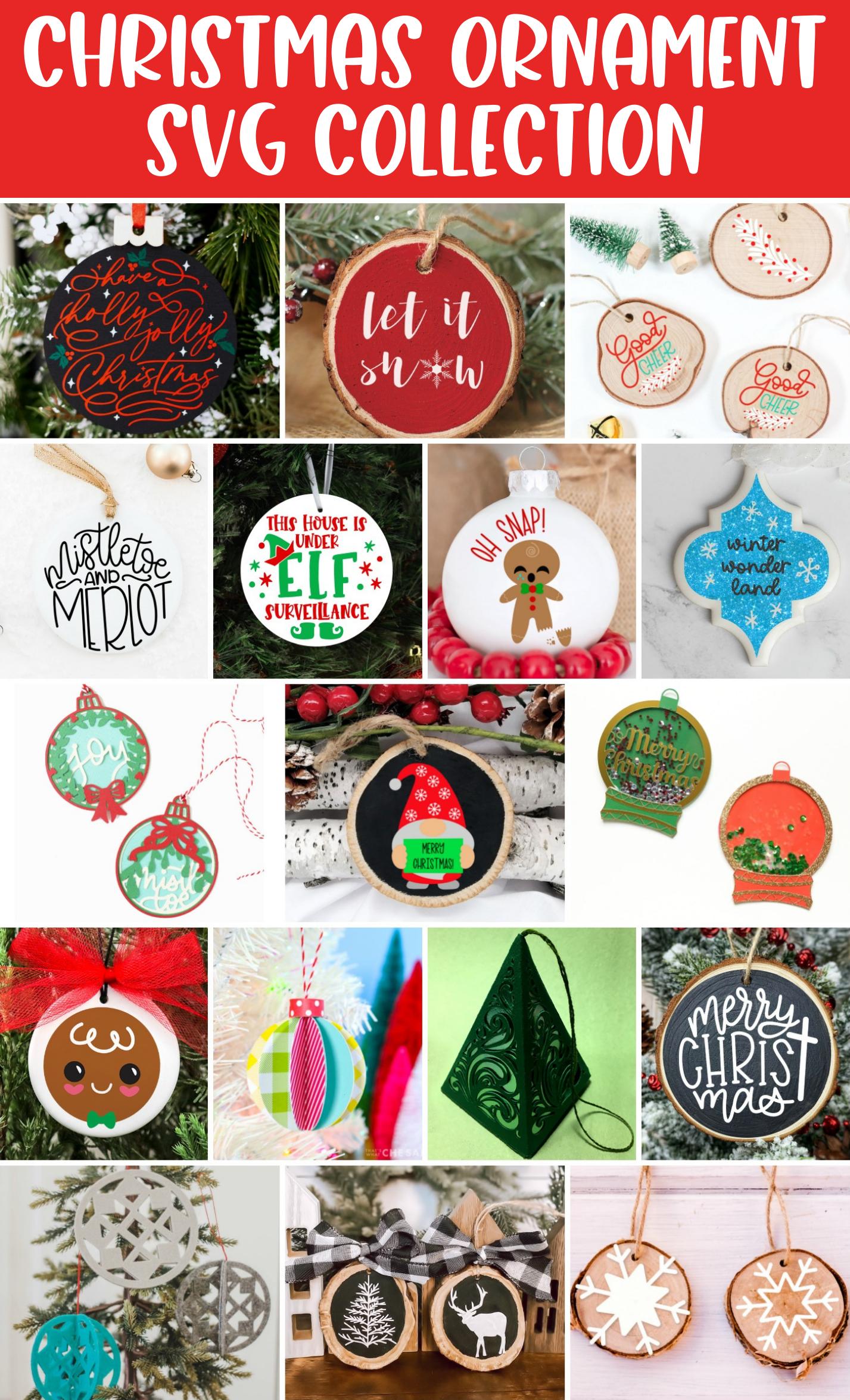 Elf Surveillance SVG - 17 Free Ornament SVG Cut Files