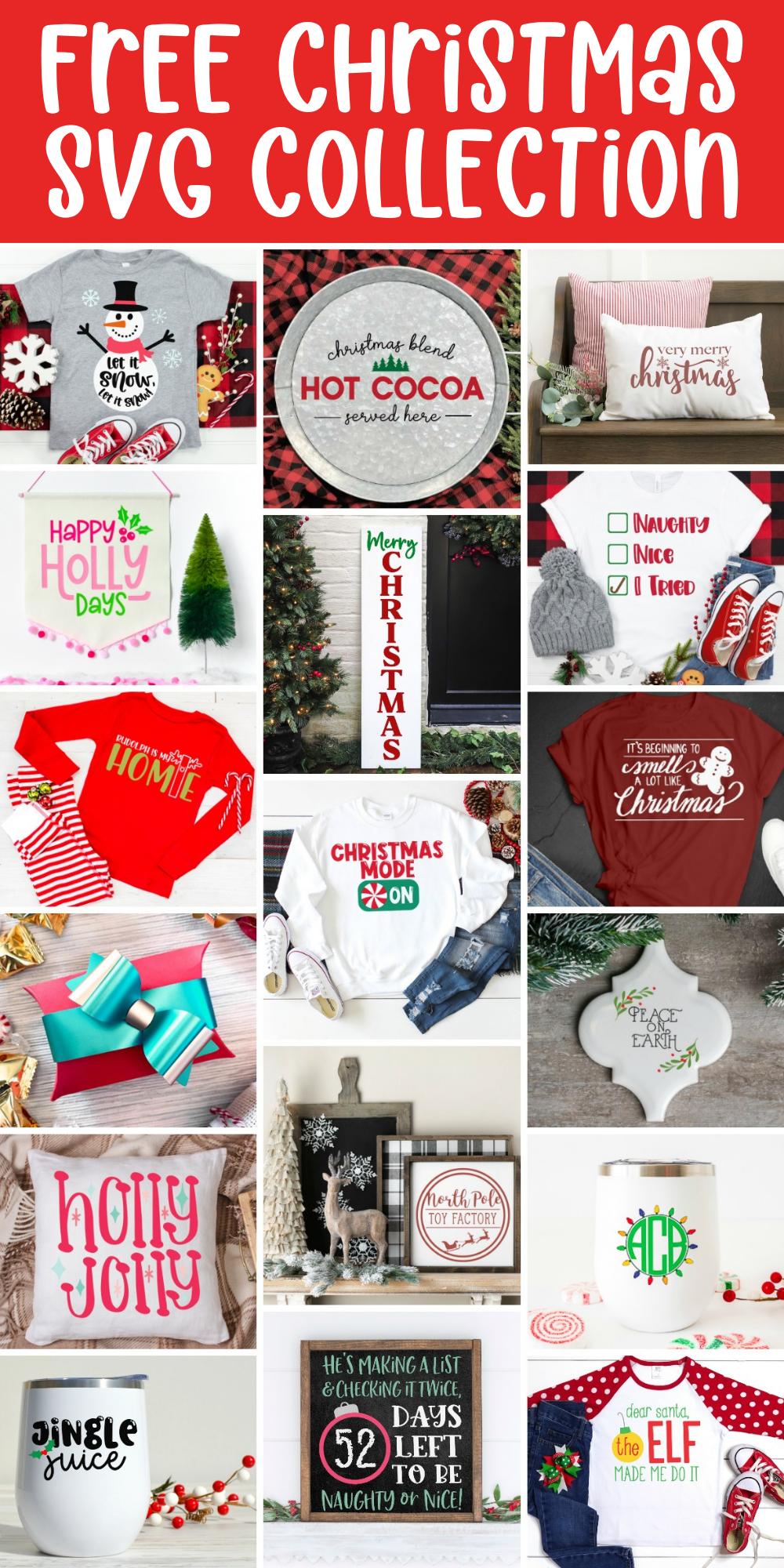 Free Christmas SVG Collection