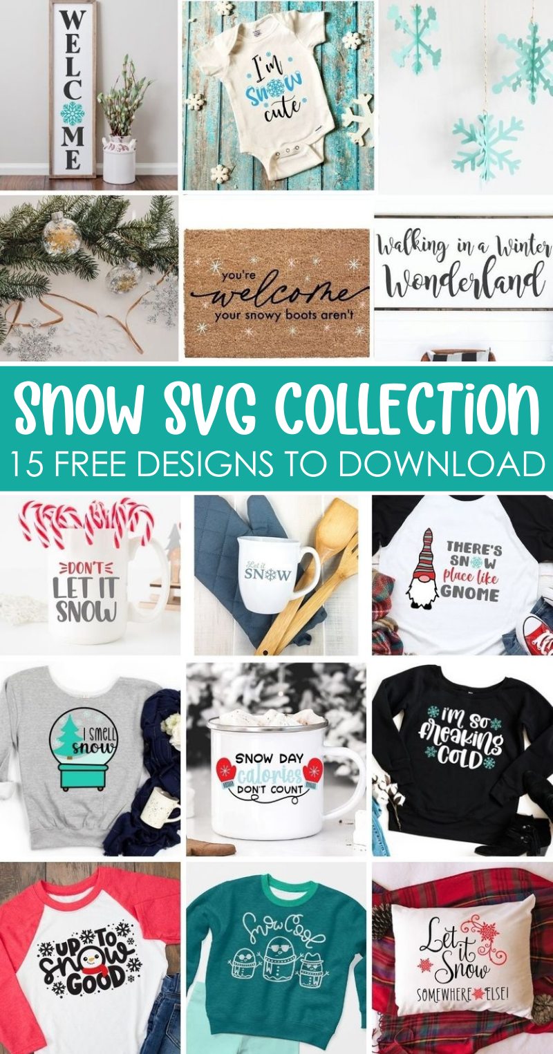 Winter Snow SVG Collection