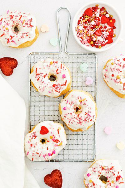 Donuts cooked in the air fryer