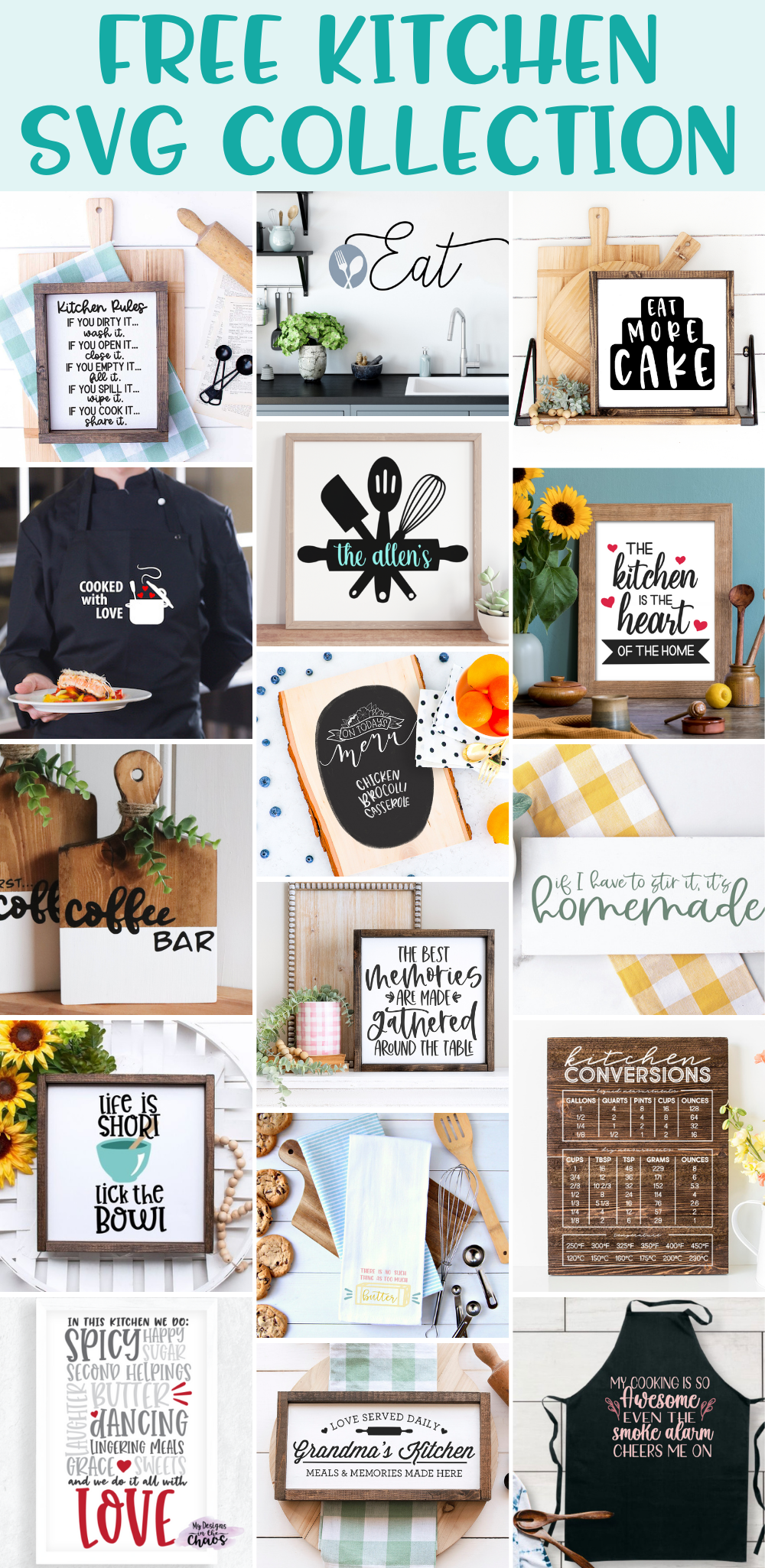 Kitchen SVG Collection