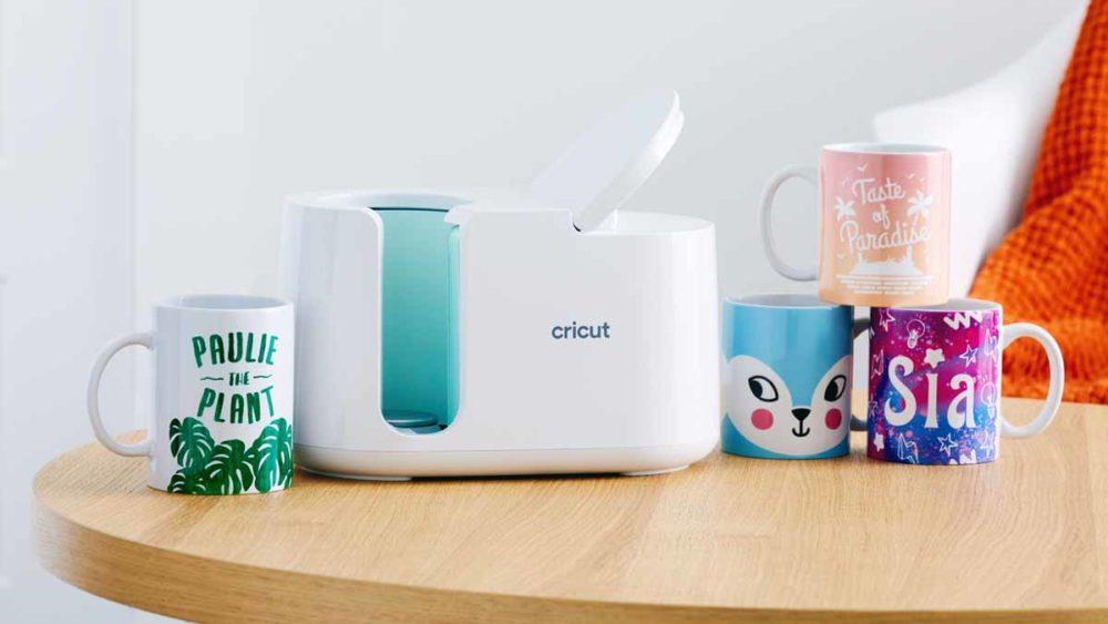Make professional looking mugs with the new Cricut Mug Press.