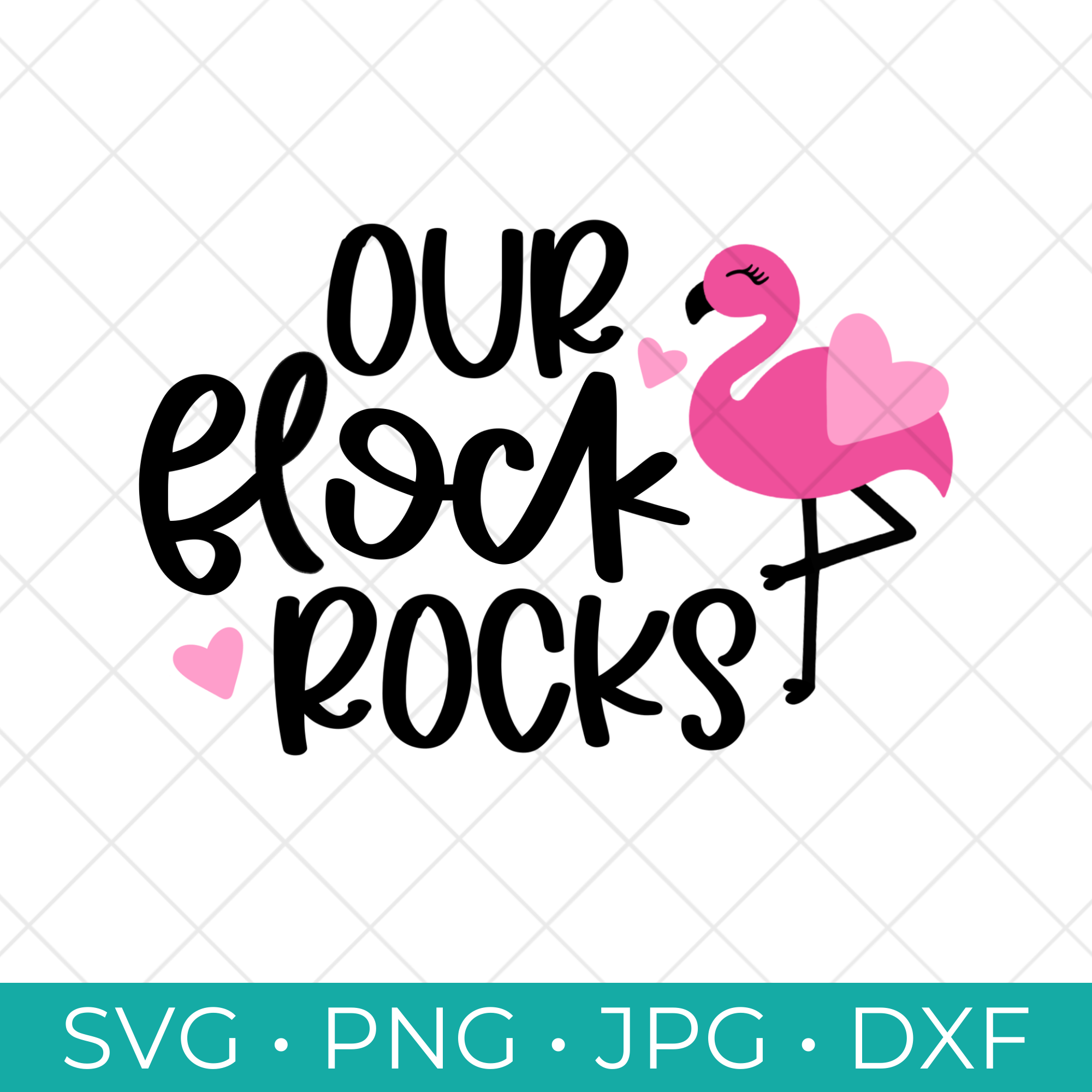 Free Our Flock Rocks SVG