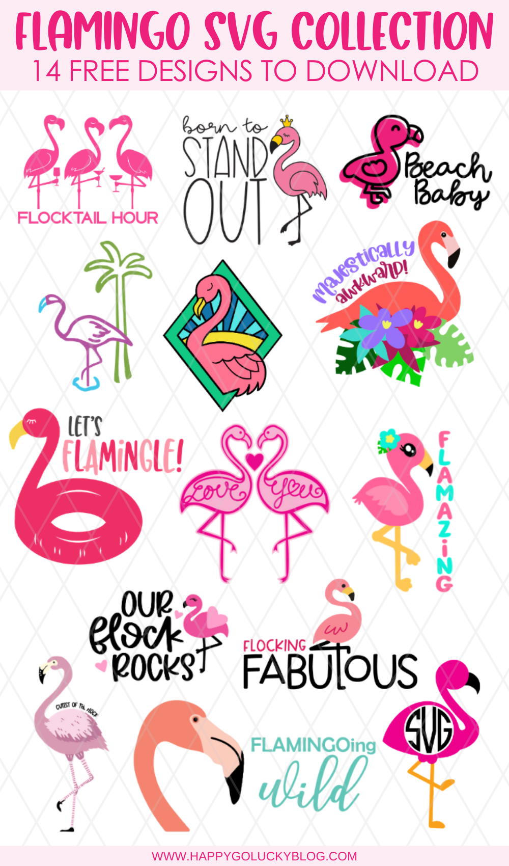 Flamingo SVG Collection
