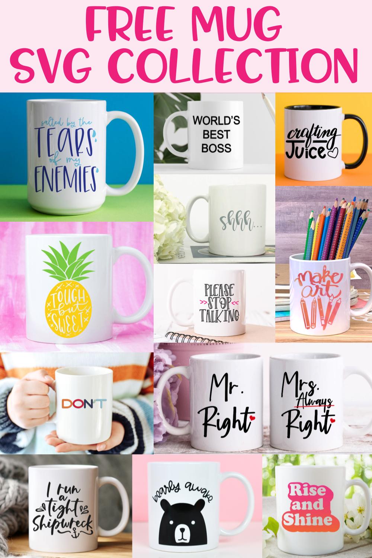 Free Mug SVG Collection