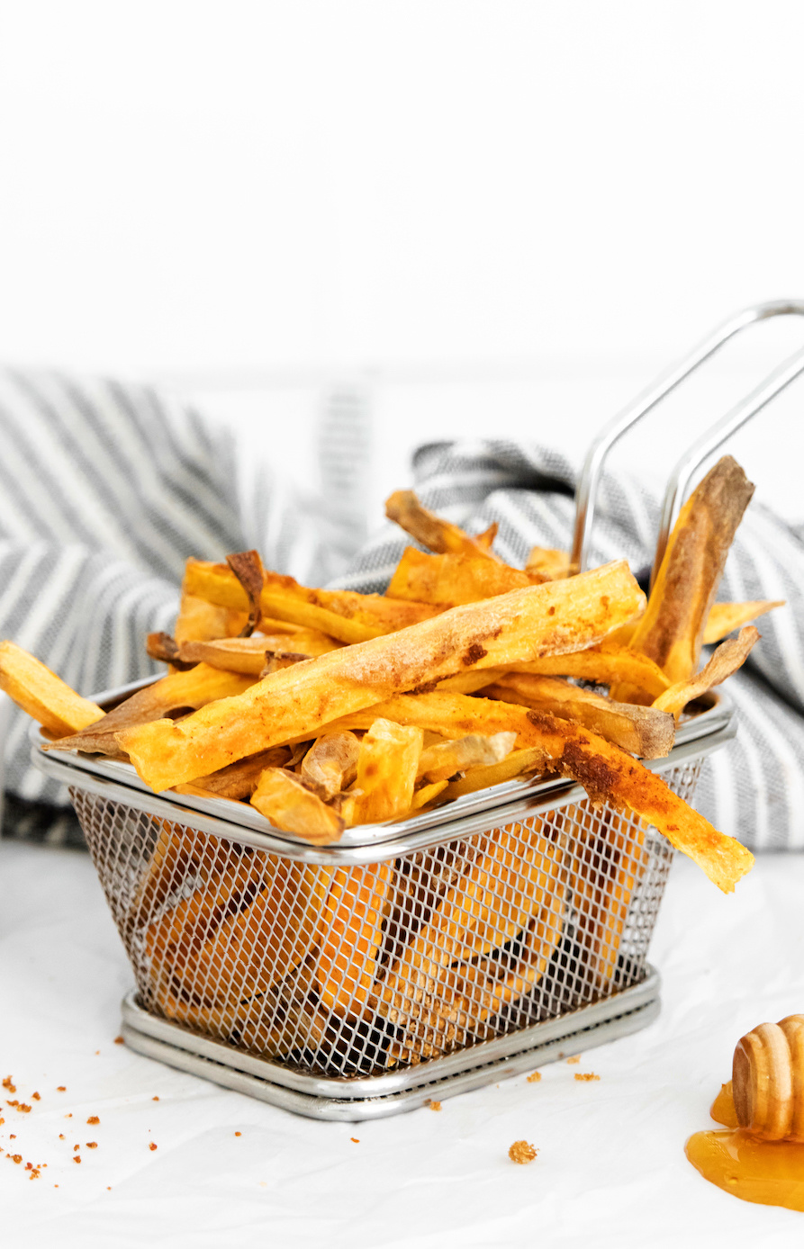Easy Air Fryer Sweet Potato French Fries