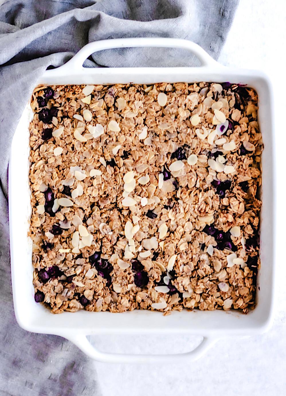 Easy 20 Minute Baked Oatmeal Recipe