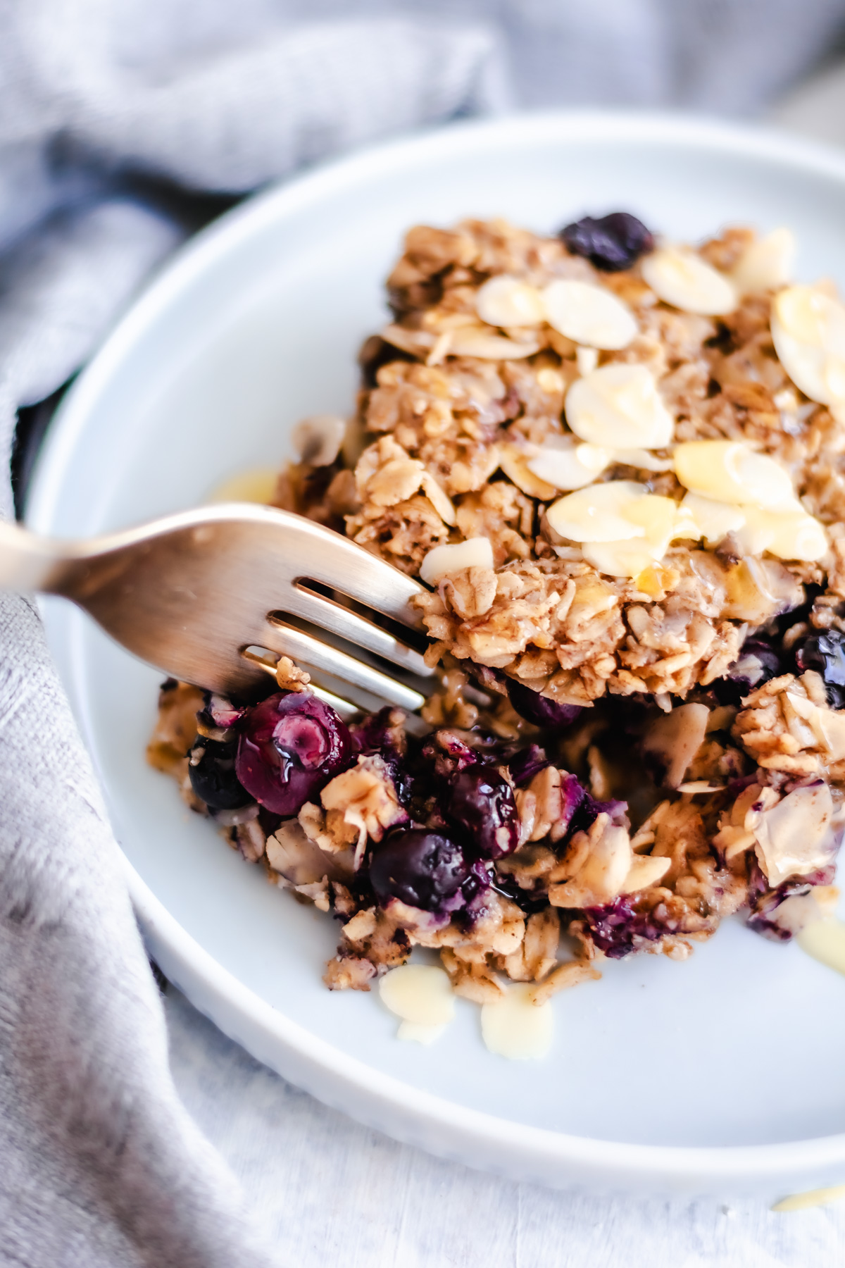 The best berry baked oatmeal