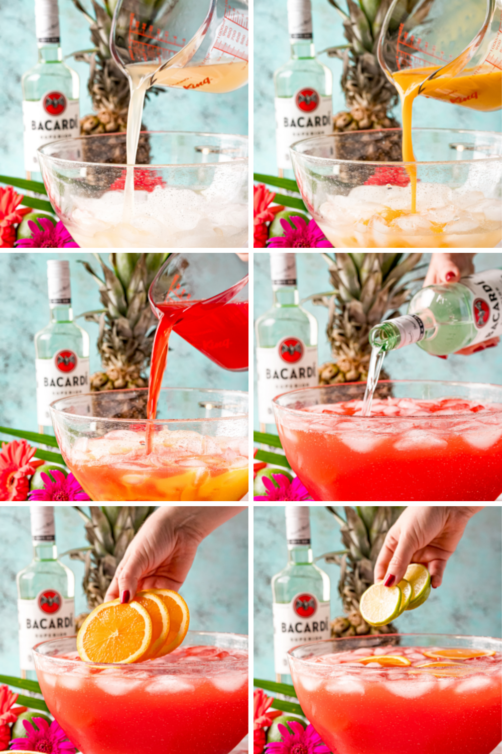 How to Make Hurricane Punch Step-by-Step Directions