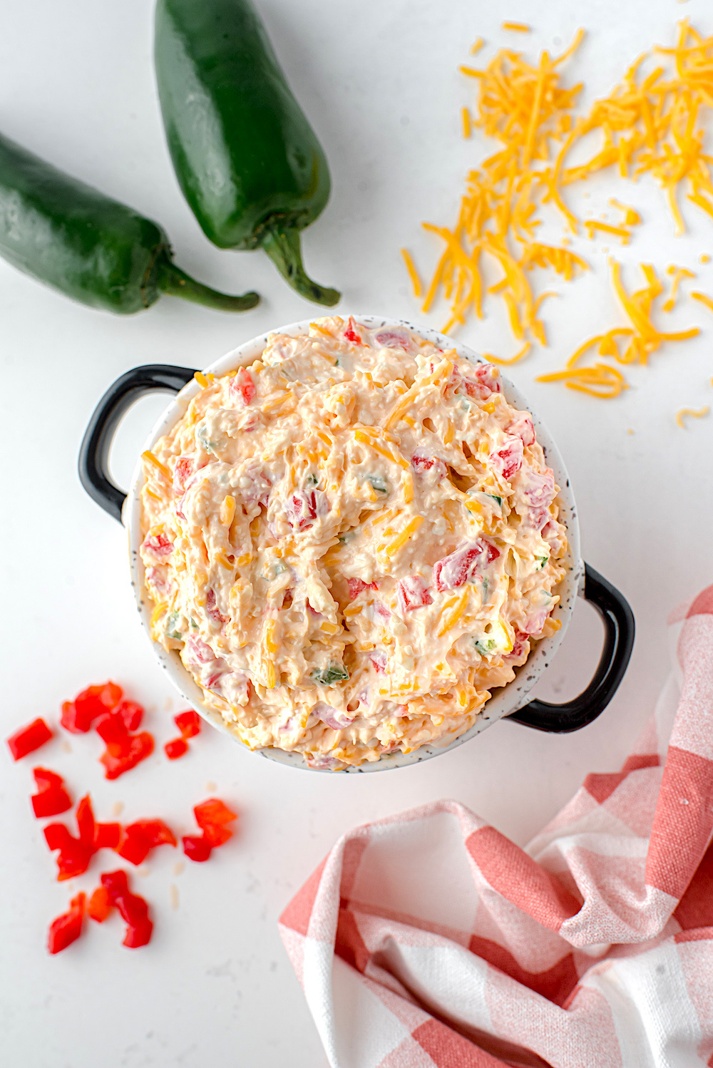 Pimento Cheese Dip with Jalapenos