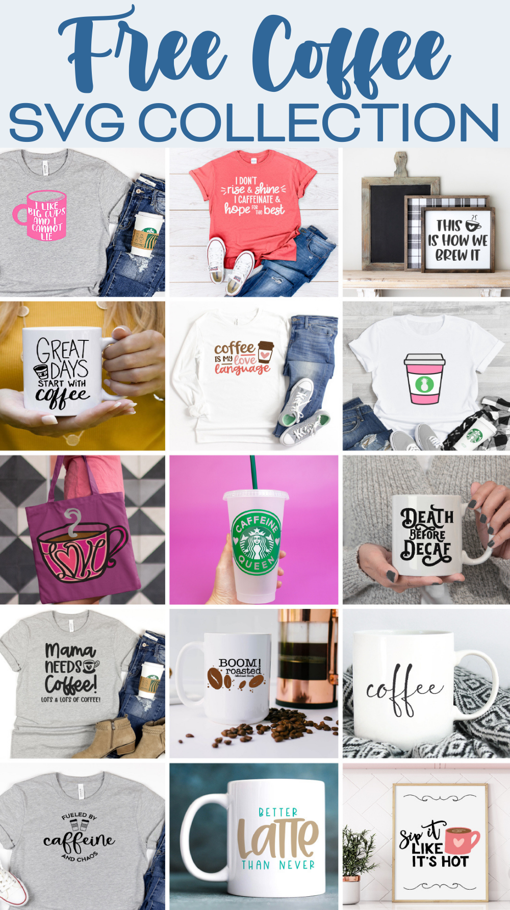 Coffee SVG Collection
